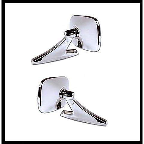 'Cromato Sport paio di rettangolare a specchio