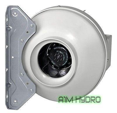 Kanal-Ventilator von Systemair RVK, 250 mm, A1, Leistung: 780m³ Luft pro Stunde, geeignet für Hydrokulturen -