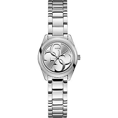 GUESS Reloj Analógico para Mujer de Cuarzo con Correa en Acero Inoxidable W1147L1