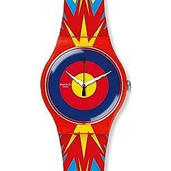 Watch Swatch New Gent SUOZ220 JOVA TIME Special Limited Edition Jovanotti