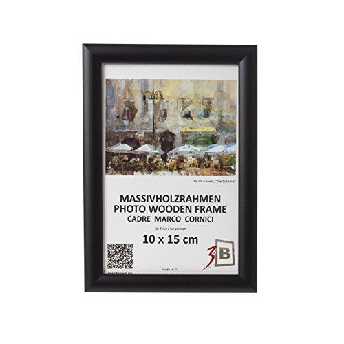 Set de 3 pièces cadres ULM 15x21 cm - noir - cadre en bois, cadre pour photo