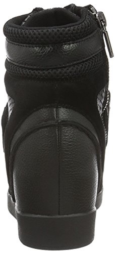 Armani Jeans 9250816a473, Sneakers basses femme Schwarz (NERO 00020)