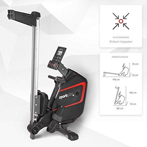 SportPlus Ruderergometer – Rudern zuhause Bild 5*