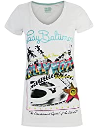 LORD & LADY BALTIMORE Femme Designer Top Shirt - HOLLYWOOD -