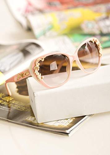 BHLTG Sonnenbrille Frau Persönlichkeit Mode Sonnenbrille Geschnitzte Sonnenbrille Outdoor Sports Reiten Fahren Mirror-3 -
