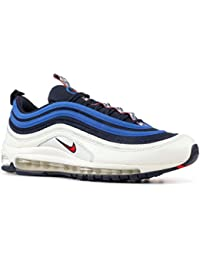 timeless design 0a9fb 59718 Nike Scarpe Uomo Sneakers Air Max 97 in Tessuto Blu AQ4126-400