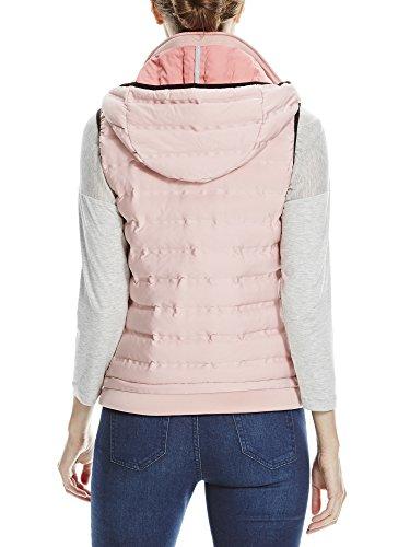Bench Damen Weste Asymmetric Insulator Vest Rosa (Bridal Rose PK172)