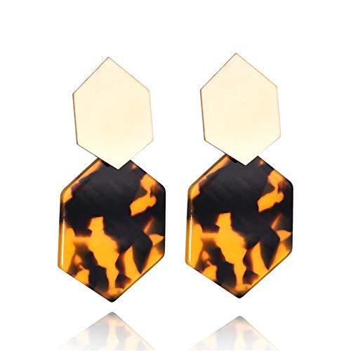 KBWL Orecchini Orecchini pendenti caldi alla moda Orecchini colorati Orecchini geometrici in metallo Gioielli di moda Nuovo4