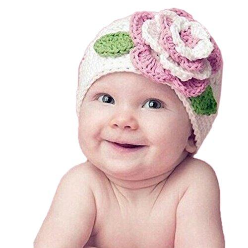 tongshi-cute-big-flower-baby-kids-infant-toddler-girl-caliente-beanie-knit-hat-cap