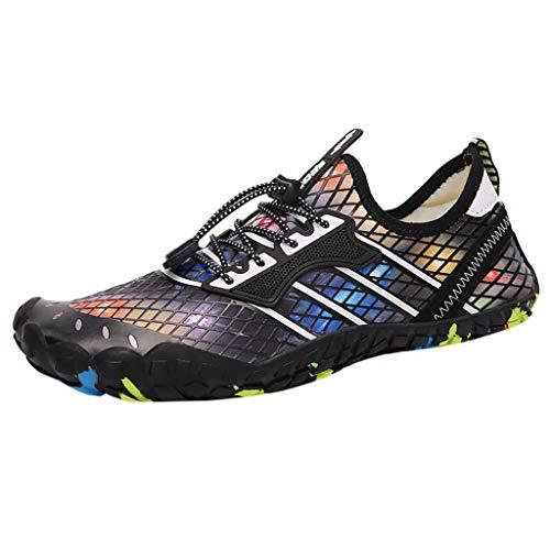 friendGGDamen Schuhe Herren Damen Wasserschuhe Sport Schnelltrocknend Barfuß Socken Badestrand Walking Yoga