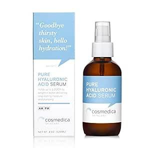 Cosmedica Skincare Hyaluronic Acid Serum, 4 Ounce