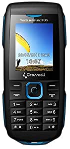 CROSSCALL Discovery Téléphone Mobile Compact Noir et Bleu