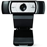 Logitech C930e 960-000972 1080p Full HD Webcam, Black
