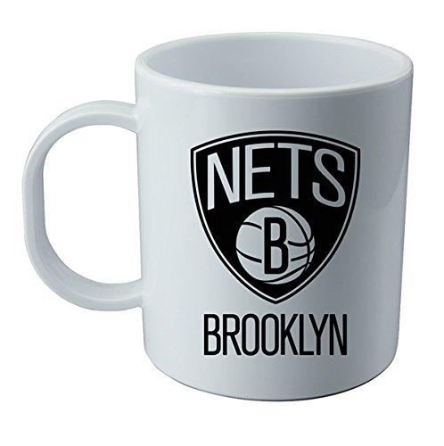 Taza y pegatina de Brooklyn Nets - NBA