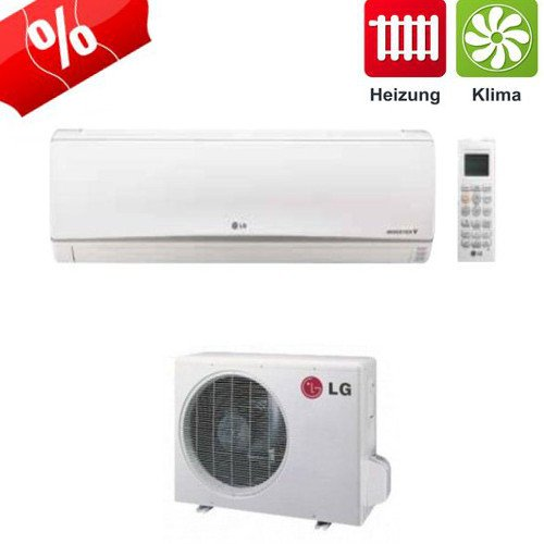 41uCmtwopkL. SS500  - LG Air conditioner Standard Inverter P12RL air conditioner 3,5 kW - SET