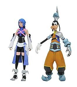 Kingdom Hearts Diamond Select Disney Series 2 Aqua & BBS Goofy Figura de acción 2 Pack