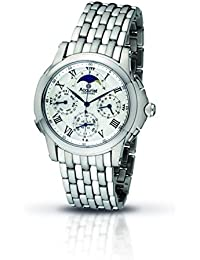 Accurist Men's Quartz Watch with Silver Dial Chronograph Display and Silver Stainless Steel Bracelet Gmt122W