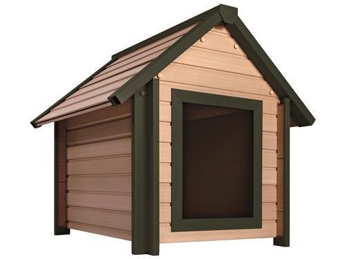 Eco Dog Kennel. Elevated  Large 31x36x35 inches 790x915x890 mm