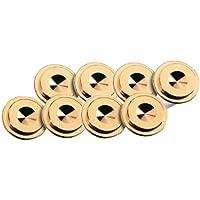 Oehlbach Washer 20 S, Unterlegscheibe für Spikes, farbe: gold, 8 Stück (55043)