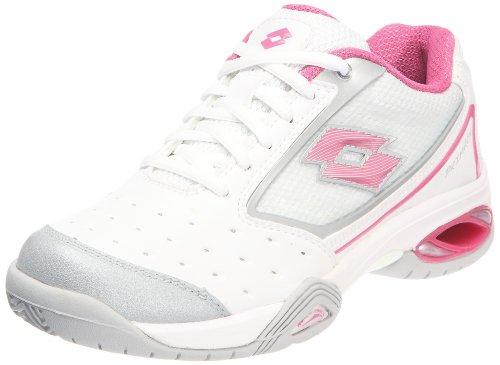 Lotto Primacy Ii N1058 Femme Chaussures Tennis Blanc Blanc