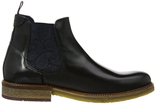 Ted Baker Herren Bronzo Lthr Am Black Chelsea Boots Schwarz (Black)