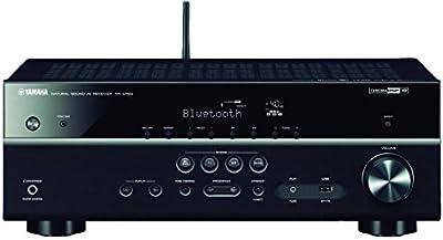 Yamaha MusicCast RX-V483 - Receptor AV, color negro