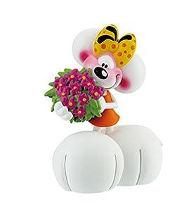 Bullyland 43474 Diddl Diddlina - Figura Decorativa, diseño de Flores