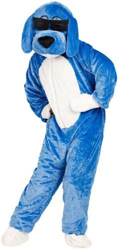 infactory Tier Kostüm: Halloween- & Faschings-Kostüm Hund mit Brille (Fasnacht-Kostüme)