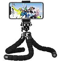 Mini Tripod, Mpow Flexible Mini Tripod Camera Travel Tripod with Bluetooth Control for Gopro and Small Camera, Black