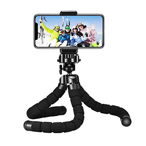 Mpow Mini Trépied Flexible Gopro Appareil de Photo et Smartphone avec Télécommande Bluetooth pour iPhoneSeries Smartphone Android et Caméra Gopro Appareil Photo