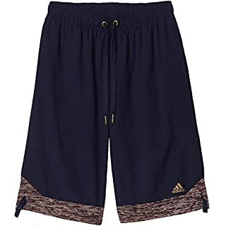 adidas Performance Mens ABL SO Basketball Sports Shorts - Navy - M