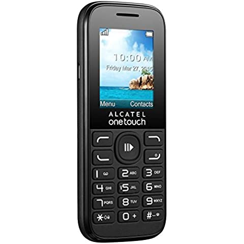 Alcatel 1052D-3AALES1 - Teléfono móvil 2G, color negro