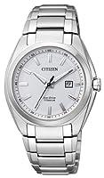 Citizen EW2210-53A - Reloj analógico de cuarzo para mujer, correa de titanio multicolor de Citizen