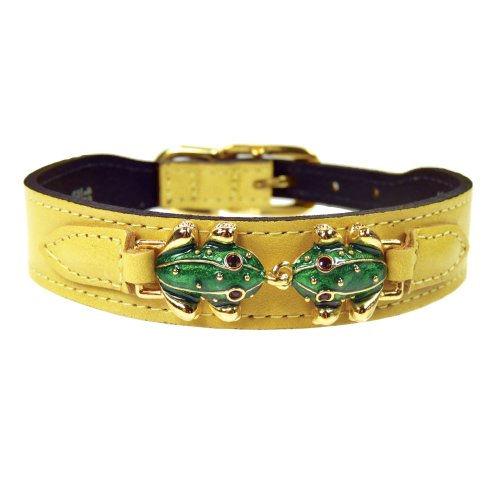 hartman-rose-leap-frog-collection-hundehalsband-kanariengelb-20-22