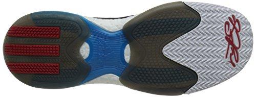 Adidas D.Rose 5 Boost Scarlet/Solar Blue