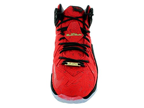 Scarpe Lebron 600 Nero Uomini 861 Gli Xii Rosso Ext Università Per Montate 748 Nike Metallizzato rrAwS