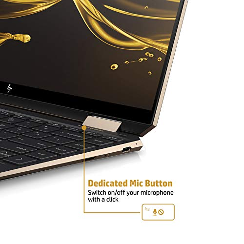 HP Spectre x360 Core i5 10th Gen 13-inch FHD Touchscreen Laptop (8GB/512 GB SSD/Windows 10/MS Office 2019/Dusk Black/1.27 kg), 13-aw0204TU Image 5