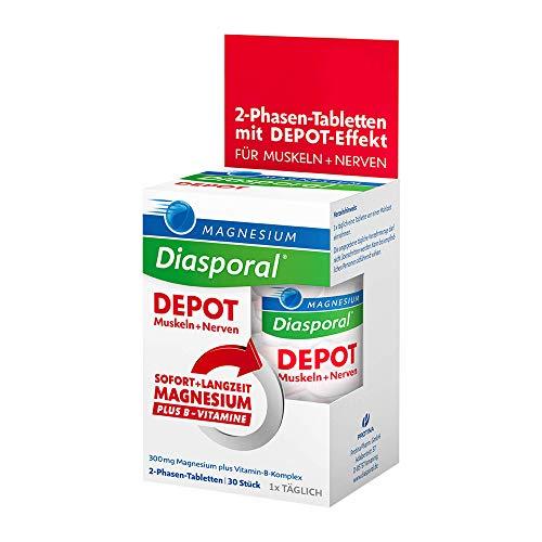 Magnesium-Diasporal DEPOT Muskeln + Nerven, 30 St. Tabletten -