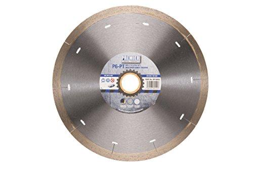 835p6-pt Klinge kontinuierliche Rand für Porzellan und harte Fliesen, silber/messing, 200x 25,4mm ()