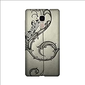 Yashas High Quality Designer Printed Case & Cover for huawei honor 5C (Music Art)