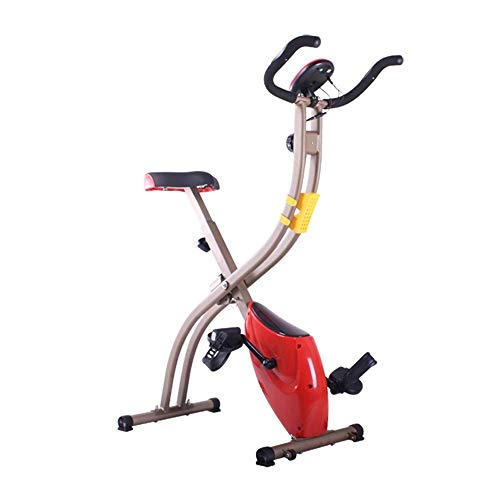 Yhjklm Professional Exercise Bike Indoor Cycling Bike, Cycle Trainer Exercise Bicycle Heart Rate Fitness Stationary Exercise Bike With LCD Display Stationary Bike for Home Cardio Gym Workout