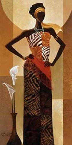 The Poster Corp Keith Mallett - Amira Kunstdruck (60,96 x 121,92 cm) -