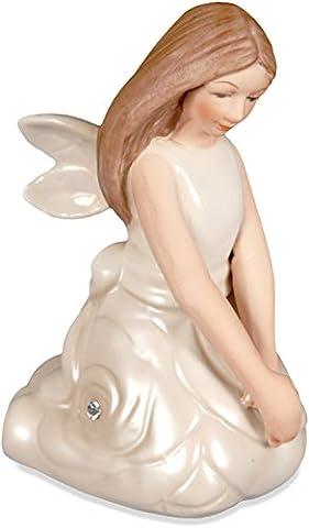 Angelstar 10380Unschuld kniende Engel Porzellan Figur, 3Zoll (Porzellan Engel Figurine)