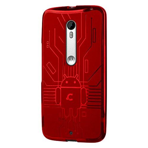 Moto X Style Case, Cruzerlite Bugdroid Circuit Case for the Motorola Moto...