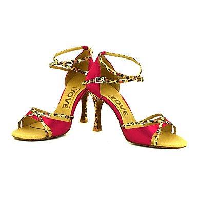 De Profissional Mulheres De Sapatos Customizável Xiamuo Bronze Dança 8gqAIp