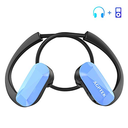 AGPTEK Auriculares Reproductor MP3 8 GB
