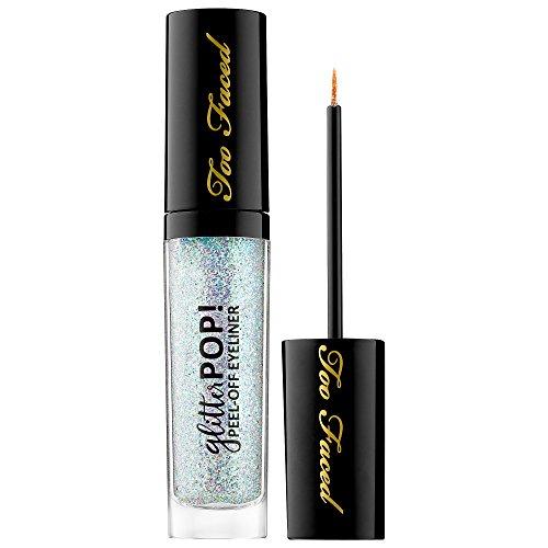 TOO FACED Glitter POP! Peel-Off Eyeliner - Glitter Ghost - holographic multi-sparkle glitter (Ghost Sparkle)