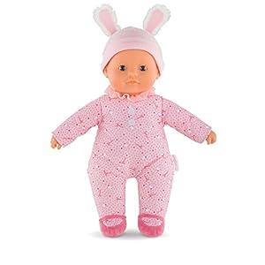 Corolle- Muñeco bebé Sweet Heart 30cm con Pijama Rosa Claro, Color, 30 cm (9000100150)