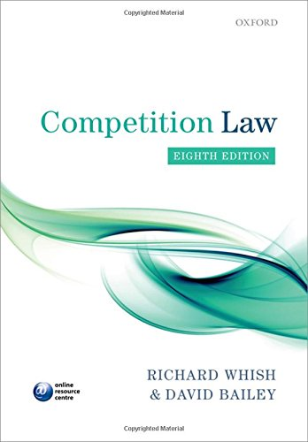 Competition Law por Richard Whish