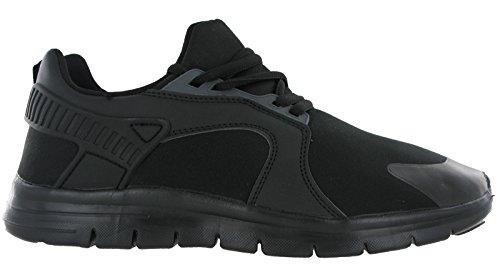 Airtech , Sandales Plateforme homme noir/noir